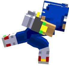 Sonic Minecraft Skin